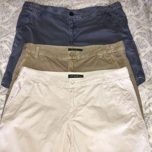 3 pairs of Eddie Bauer shorts
